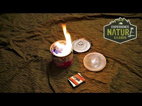 Notfallkerze - Notlicht - Dosenkerze - Survival Kerze - Dosenkocher - einfach selber herstellen!