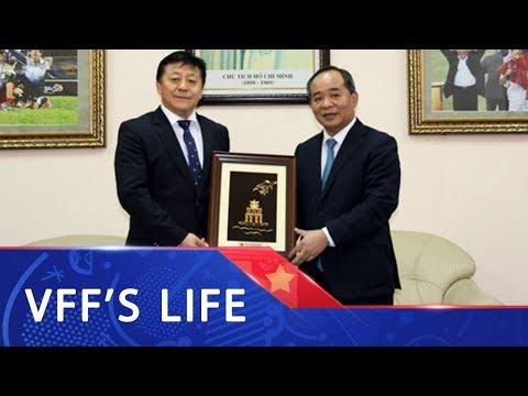 Chủ tịch Lê Khánh Hải tiếp đón Thứ trưởng Bộ TT Trung Quốc Du Zhaocai