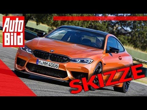 BMW M4 (2020): Sportwagen - Skizze - Details