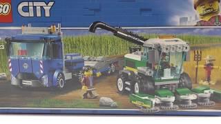 Обзор конструктора LEGO City Транспортировщик для комбайнов (60223)