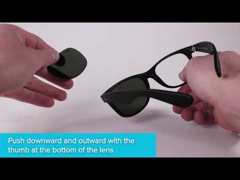 How to Replace Ray-Ban New Wayfarer Sunglass Lenses