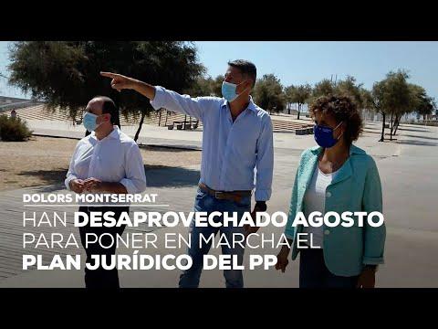 """Montserrat: """"Han desaprovechado el mes de agosto para poner en marcha el plan jurídico del PP"""""""