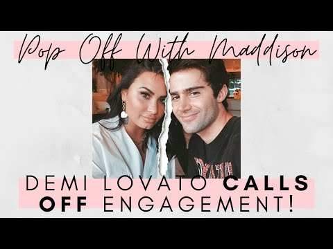 Demi Lovato ENDS Engagement After Fiancé's Selena Gomez tweets REVEALED | Pop Off With Maddison 💬🍾