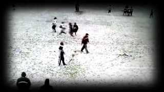 Snow Football Day in Athens (Mountain Lion Nation) 2013