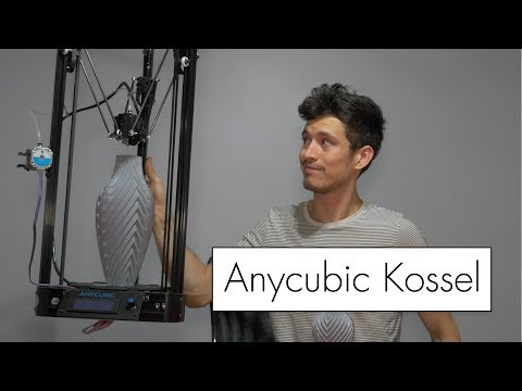 Anycubic Kossel $200 3D Printer Review