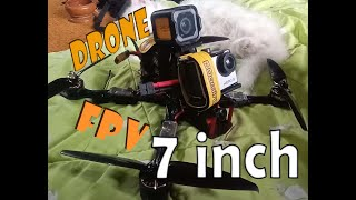 First Time Flying Drone FPV 7 inch