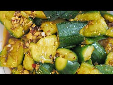 Video GARLIC CUCUMBER recipe – YANYUM 17 (중국식 오이 무침 凉拌黄瓜)