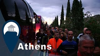 Athens Marathon | Getting to the Start Line | Video3