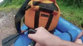 Emocionante Caída en Rafting