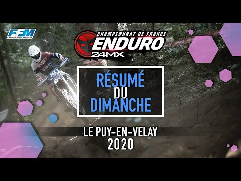 CDF enduro 2020 Puy-en-Velay 2020- J2