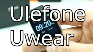 Ulefone Uwear Full Review - Cheapest Full Metal Smartwatch - Iwatch Look-alike [4K]