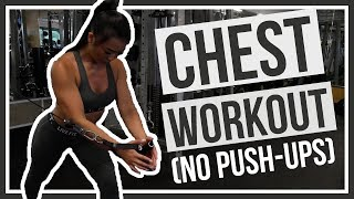 BEGINNER Chest Workout by Naomi Kong