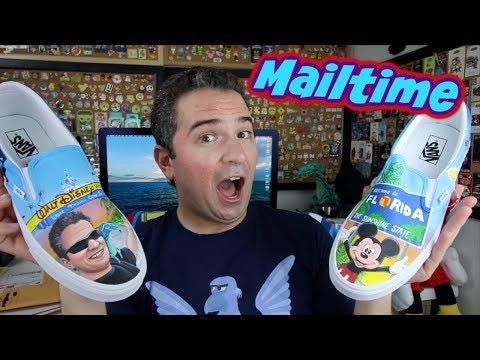 Custom Mickey and Michael Vans Shoes! | Mailtime October 2019