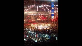Martinez-Chavez Jr round 12 live inside arena