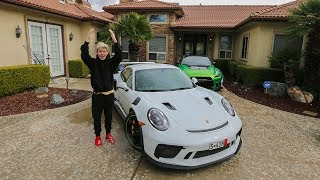 MY NEW SUPERCAR IS FINALLY HERE!! (PORSCHE GT3RS)