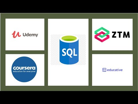 Top 10 Courses to learn SQL and Database Fundamentals