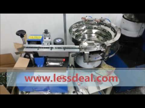 Automatic Resistor Lead Forming Machine LD-103F