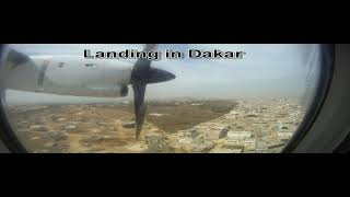 preview picture of video 'Landing in Dakar'