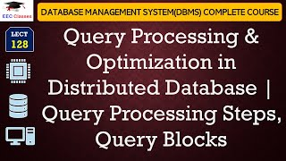Query Processing & Optimization Introduction | Query Processing Steps | Query Blocks
