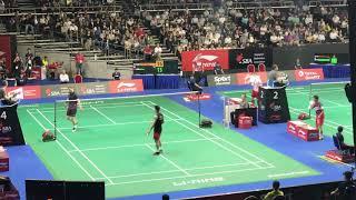 Singapore Open 2019 Day 2- Lin Dan Vs Viktor Axelsen On 10 April 2019