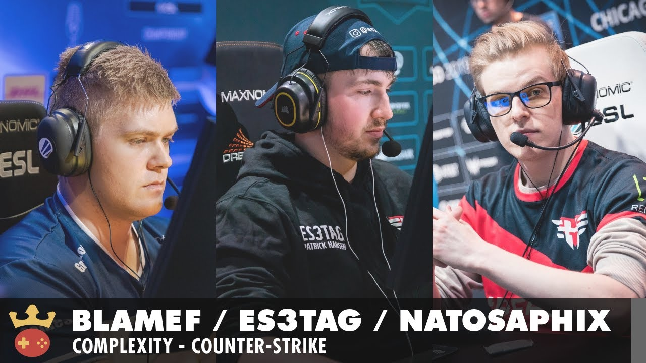 Video of Interview with blameF, es3tag, and NaToSaphiX from Complexity at ESL Pro League Season 14