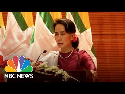Suu Kyi 'Concerned' At Rohingya Exodus But Wants 'Solid Evidence' Of Violence | NBC News
