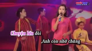 Karaoke  Mối Tình Đầu Tiên   Dương Hồng Loan