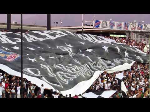 """""""Garra Blanca - Salida Colo Colo vs Botafogo"""" Barra: Garra Blanca • Club: Colo-Colo"""