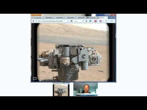 Cosmoquest Astronomy Hour, Sept. 12, 2012: Curiosity update