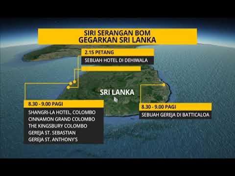 [INFOGRAFIK] Siri serangan bom gegarkan Sri Lanka