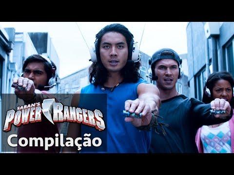 Power Rangers em Português | Dino Super Charge – É Hora de Morfar!