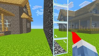 I Secretly Cheated Using ONE WAY Glass in Minecraft
