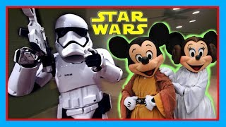 FIRST ORDER STORMTROOPERS ESCORT ME TO KYLO REN AT STAR WARS LAUNCH BAY | Hollywood Studios Vlog