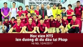 Học viên trung tâm H.Y.S đi Pháp tham dự giải đấu Mini Mundial