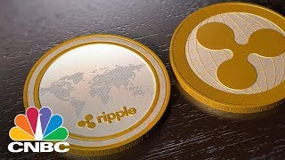 BTC/USD Bitcoin Rival Ripple Is Sitting On Billions Of Dollars Worth Of Cryptocurrency: Bottom Line | CNBC