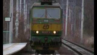 preview picture of video 'Vlaky na trati 091 - Roztoky-Žalov'