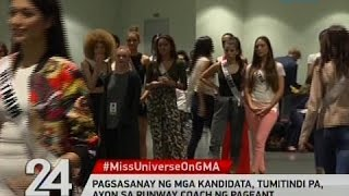 24 Oras: 86 Kandidata ng Miss Universe, todo-ensayo na para sa preliminaries at coronation night