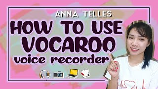 VOCAROO TUTORIAL | RECORD ESL SELF INTRODUCTION HERE | Anna Telles