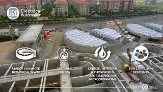 İSKİ Ataköy WWTP Stage II - Electrification & Automation Works