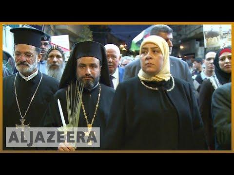 🇵🇸 Israel-Gaza violence: Christians and Muslims attend vigil | Al Jazeera English