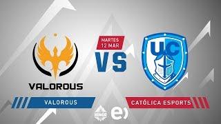 Valorous VS Católica Esports | Jornada 14 | Liga de Honor Entel