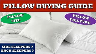 Pillow Buying Guide | How to select the perfect Pillow