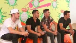 Кендалл Шмидт, BIG TIME RUSH - SALA DE PRENSA - KIDS CHOICE AWA