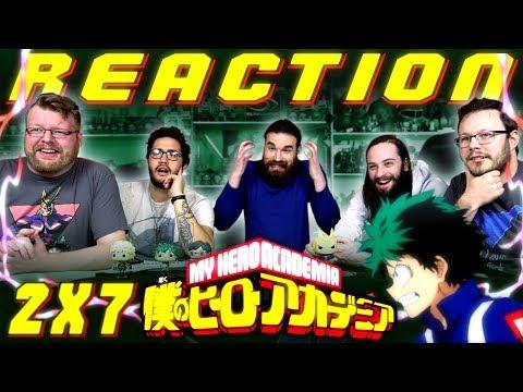 "My Hero Academia [English Dub] 2x7 REACTION!! ""Victory or Defeat"""