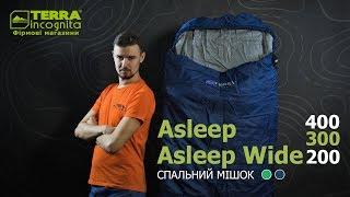 Terra Incognita Asleep Wide 300 / right, зеленый - відео 1