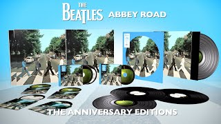 The Beatles ABBEY ROAD Anniversary Editions   Unboxing