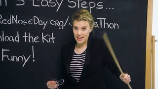 Kate Mckinnon Wants Your Kids To Sell Their Jokes | Introducing Joke-Ha-Thon