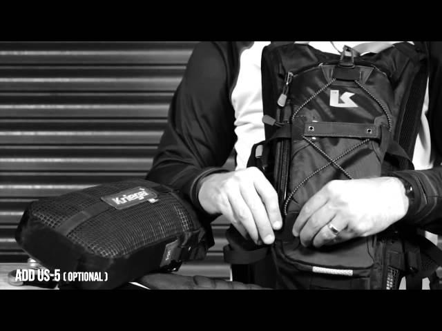 Видео Рюкзак Kriega Backpack Hydro3