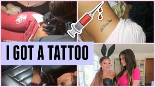 I GOT A TATTOO  All About It Behind The Scenes Of New Video Haul & More