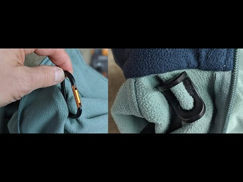 Packtech – Attach A Carabiner To Any Fabric Demo And Review